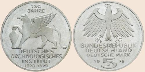 Münzkatalog Online 5 Deutsche Mark 1979 150 Gründungstag Des
