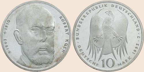 Münzkatalog Online 10 Deutsche Mark 1993 150 Geburtstag Von