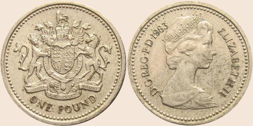 Münzkatalog Online 1 Pfund 1983