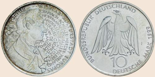 offizielle kulturstadt medaille 1999