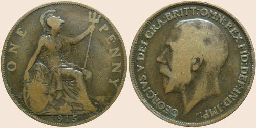 Münzkatalog Online 1 Penny