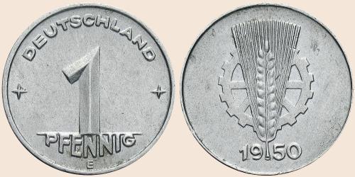Münzkatalog Online 1 Pfennig 1948 1950