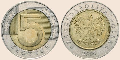 Münzkatalog Online 5 Zlotych