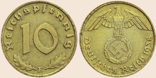 Münzkatalog Online 10 Reichspfennig 1936 1939