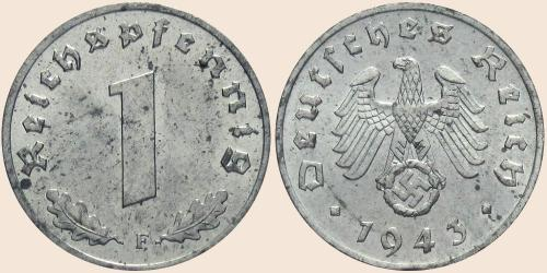 Münzkatalog Online 1 Reichspfennig 1940 1945