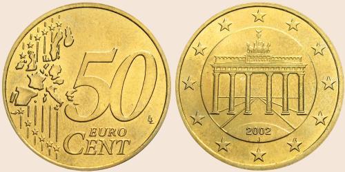 Münzkatalog Online 50 Cent 2002 2006