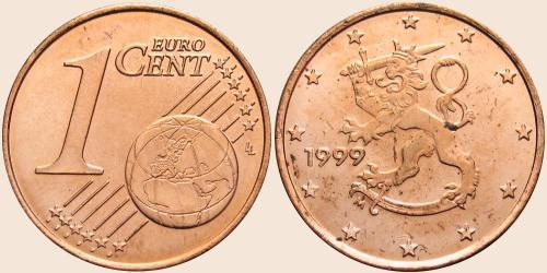Münzkatalog Online 1 Cent 1999 2006