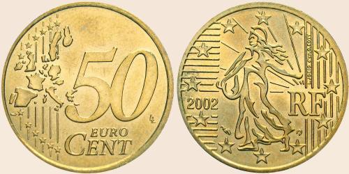 Münzkatalog Online 50 Cent 1999 2006