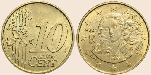 Münzkatalog Online 10 Cent 2002 2007