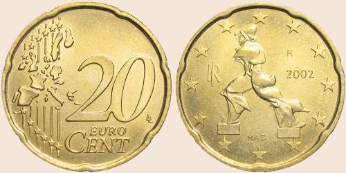 Münzkatalog Online 20 Cent 2002 2007