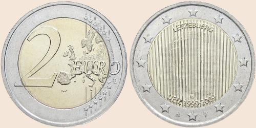 Münzkatalog Online 2 Euro 2009 10 Jahre Wirtschafts Und Währungsunion