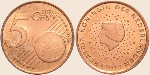 Münzkatalog Online 5 Cent 1999