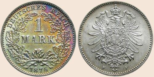 Münzkatalog Online 1 Mark 1873 1887