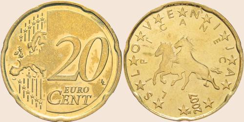Münzkatalog Online 20 Cent 2007