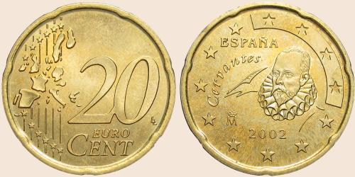 Münzkatalog Online 20 Cent 1999 2006