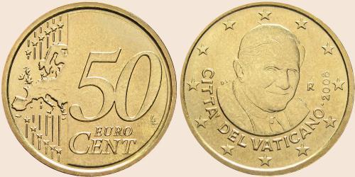 Münzkatalog Online 50 Cent 2008 2013