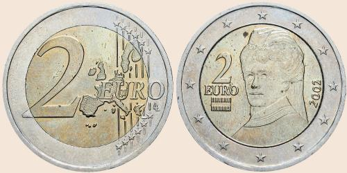 2 Euro Münzen Wert Deutschland 2002 Hindu Tube