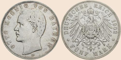 Münzkatalog Online 5 Mark 1891 1913