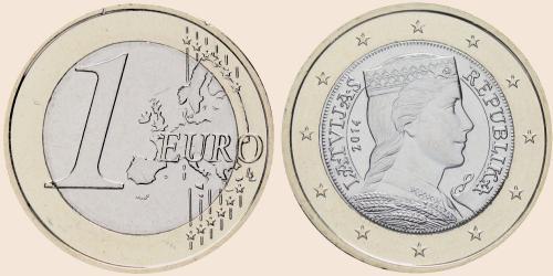 Münzkatalog Online 1 Euro 2014