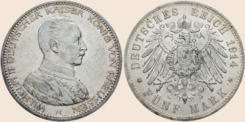 fünf mark münzen