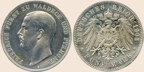 Münzkatalog Online 5 Mark 1903