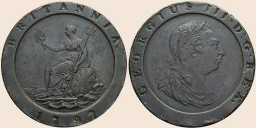 Münzkatalog Online 2 Pence 1797