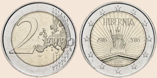 Münzkatalog Online 2 Euro 2016 100 Jahrestag Des Osteraufstands