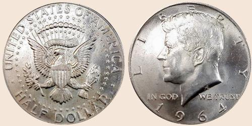 Münzkatalog Online 12 Dollar 1964